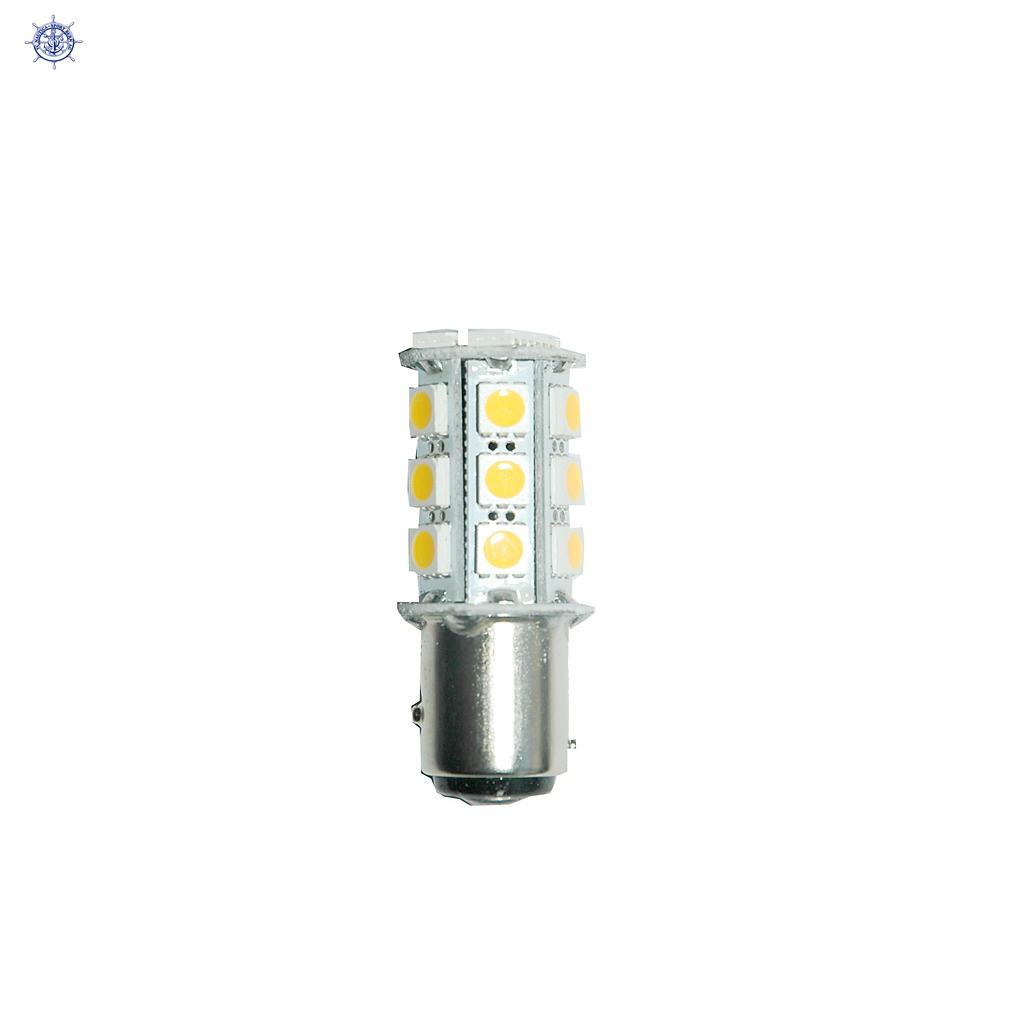 12V 24 LED Birli,2 polig BAY15D
